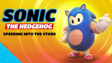 Sonic Skin Fall Guys