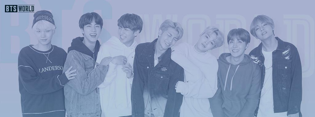 BTS World Banner