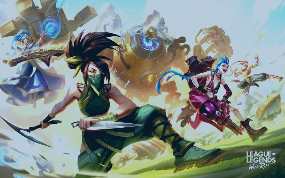 league of legend wild rift