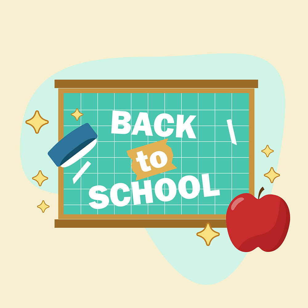 Back to School Label 3