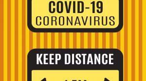 Covid Sign 1 Set