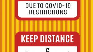 Covid Sign 2 Set