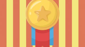 Star Gold Medal Free PNG