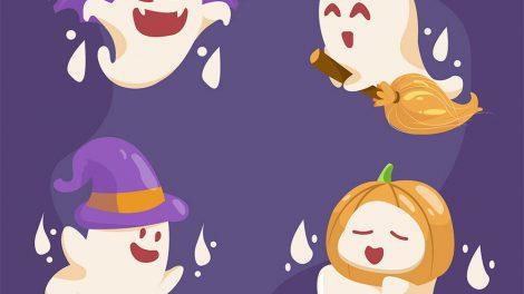 Cute Ghost PNG Free