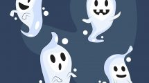 Halloween Ghost PNG Free