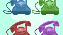 Retro Phone Collection